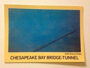 NEW UNUSED post card Chesapeake Bay Bridge-Tunnel