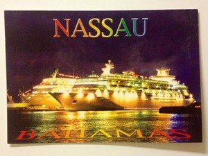 NEW UNUSED post card from the Bahamas Nassau