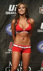 UFC MMA Octagon Girl BRITTNEY PALMER hot sexy 4x6 photo 4