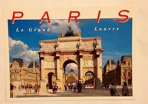 NEW UNUSED post card from Paris Louvre