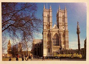 NEW UNUSED post card from London Westminster Abbey