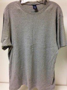 GAP gray grey fitted tee shirt mens XL