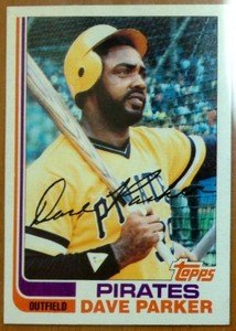 DAVE PARKER Pirates 1982 Topps card