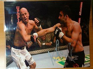 "UFC MMA KARO ""The Heat"" PARISYAN autographed signed 8x10 photo"