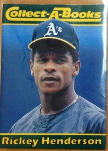 RICKEY HENDERSON A's 1990 Collect-A-Books