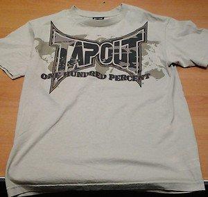 TAPOUT beige desert camo tee shirt mens Medium UFC MMA