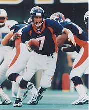 Super Bowl winner JOHN ELWAY Denver Broncos 8x10 photo