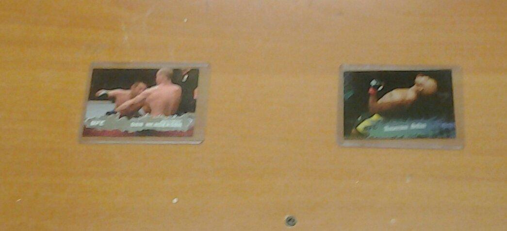 UFC MMA Anderson Silva vs. Dan Hendo Henderson cards