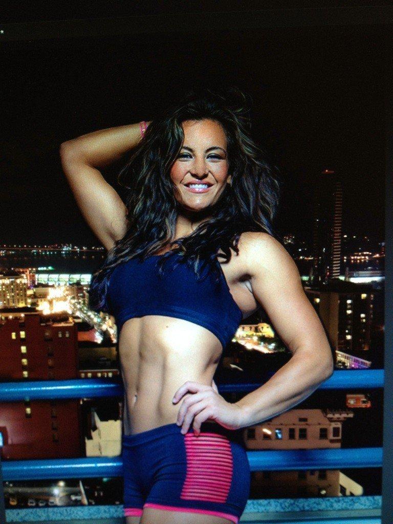 UFC MMA hot fit sexy hardbody fighter MIESHA TATE 4x6 photo
