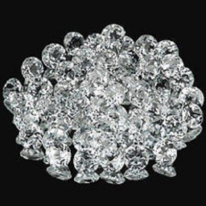 Lot of 25 Pieces AAA Quality Natural White Topaz 1.25 mm Round Cut Gemstones