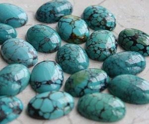 Certified Lot of 15 Pieces AAA Quality Turquoise 15x20 M.M. Oval Cabochon Calibarated