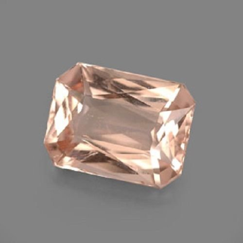 Natural Morganite 5x7mm Octagon  Faceted Cut 10 Pieces Top Quality Peach Color Loose Gemstone
