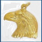 Eagle Profile Pendant N-35