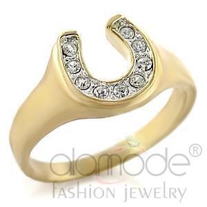 Horseshoe Gold Plated Ring 10616