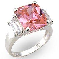 J-Lo Rose Pink Engagement Ring 6X036