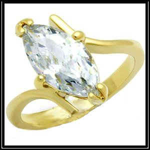 Modern Design Marquise Solitaire Ring GLO93