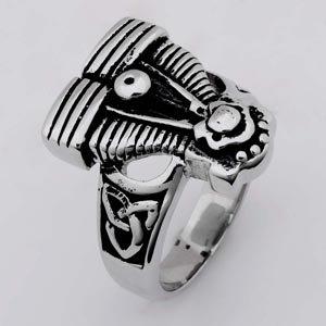 Motorcycle Engine Biker Stainless Steel Ring 892TP