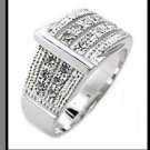 Designer Buckle Swarovski Crystal Ring 34606