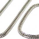 """Cuban Curb Link Chain, RD-34D 9"""" Bracelet"""