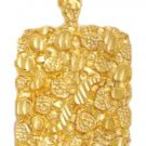 Gold Nugget Pendant LG-30