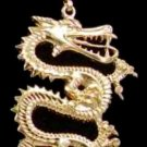Large Dragon Pendant In Gold Or Rhodium jmb-30