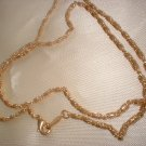 14K Gold Layered Ornate Chain 18 Inch 47-C