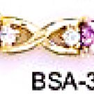 October Birthstone Tourmaline CZ Bracelet BSA-30