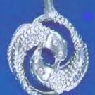 PISCES, February 19 To March 20 Astrology Pendant RDAS-3