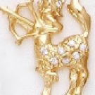 SAGITTARIUS, November 22 To December Astrology CZ  Pendant CZP-812