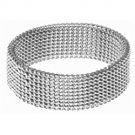 Stainless Steel Mesh Ring SR-369 B