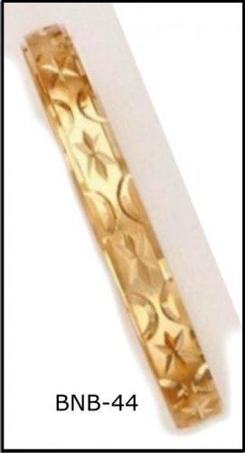 Bangle Bracelet Gold Or Rhodium Layering  BNB-44