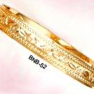 Bangle Bracelet Gold Or Rhodium Layering  BNB-52