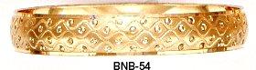Bangle Bracelet Gold Or Rhodium Layering  BNB-54