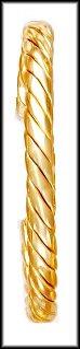Twisted Design Bangle Bracelet  BNB-109