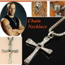 Dominic Toretto's (Vin Deisel) CROSS Chain Necklace  Pendant Necklaces