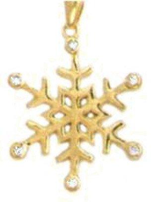 Swift  Snowflake Pendant CZP-544