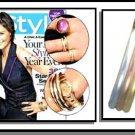 KATIE HOLME'S Bangle Bracelet Set Tri Color  BNB-89