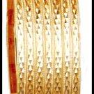 Set of 7 Bangle Bracelet Gold Or Rhodium BNB-21-A