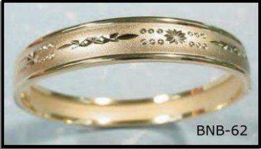 Bangle Bracelet In Gold Or Rhodium Layering  BNB-62