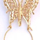Butterfly Charm Holder Gold Layered CH-1