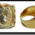 Big Bad Wolf Ring Gold Or Rhodium Layered MN-13