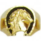 Horse Ring Gold  Layered MN-74