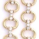Link CZ Gold Or Rhodium Layered Earrings CZE-137