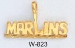 "Miami ""MARLINS"" Baseball Team Pendant W-823"