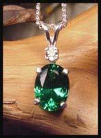 Mt St Helens Oval 8x6 Pendant SHP-1