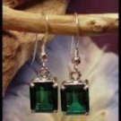 Mt St Helens Emerald Cut 10x8 French Wire Earrings SHE-4