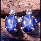 Star Sapphire 10x8 Post Earrings SSE-3