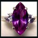 Alexandrite Two Carat Marquise Cut Ring A-6