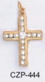 Christian CZ Cross Pendant CZP-444