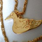 Duck Dynasty Pendant Necklace Gold Layered Guaranteed B20-47C